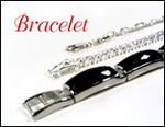Bracelet, Semi-precious stones, onyx