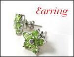 Gem, jewelry, peridot