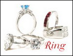 Silver, Ring, Plus size ring