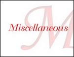 Miscellanous, gem, jewelry